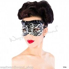 R1198 Beautiful Bordelle-L'Amour Latex Mask WESTWARD BOUND SECONDS RRP £59.78