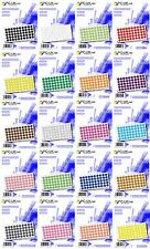 1000 Coloured Code Dot Stickers Self Adhesive Round Colour Labels 20mm Paper