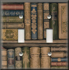 Light Switch Plate Cover - Vintage Books - Library Home Decor