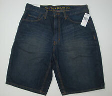NWT $49 NAUTICA DENIM JEANS LOOSE FIT SHORTS MENS 30 31 32 33 34 FREE SHIP NEW