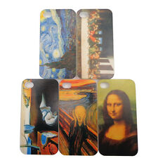 UV Printing World Famous Painting Case Cover for iPhone 4 4G 4S