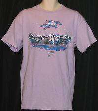 LEADER OF THE PACK WOLF WILD WILDLIFE SOUTHWEST TRIP T-SHIRT GRAPHIC PRINTED TEE