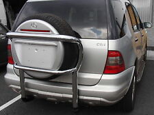 Mercedes Benz ML 1998-05 W163 Stainless Steel Rear Spare Wheel Tyre Tire Carrier