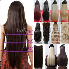 USA 120G SALON FINEST HAIR EXTENTIONS 5 CLIPS IN New Long stylish Sexy Lady hst2