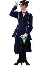 Ladies Mary Poppins Fancy Dress Costume Book Week Victorian Nanny