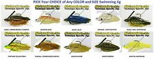 All Terrain Tackle Jigs - Swim for Swimming (ATSJ) Choice of Any Color & Size
