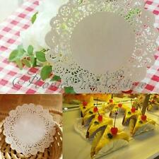 """10/30/100 9.5"""" Doilies Party Wedding Cupcake Cookies Lace Paper Pads Placemat"""