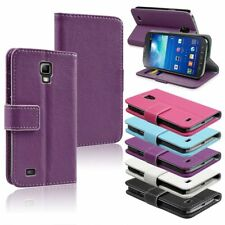 Premium WALLET Leather Flip Stand Case Cover for Samsung Galaxy S4 Active i9295