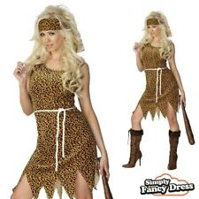 Cave Girl Costume Brown Velveteen Cavewoman Fancy Dress Cave Woman Outfit