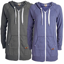 ONLY Damen Birdie Long Sweat  Zip Hoodie Gr.XS,S,M,L,XL