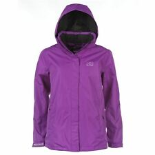 Helly Hansen Womens Aden Waterproof Fold Away Hood Zipped Sports Jacket Coat