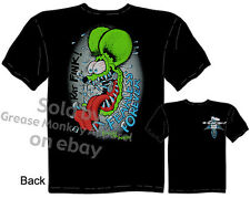 Ed Roth Rat Fink T Shirt Big Daddy Clothing Fearless Forever Tee Hot Rod Wear