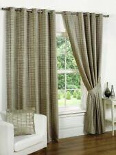 Luxury Vancouver Natural Fully Lined Eyelet Curtains