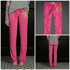 Hollister by Abercrombie Women's NWT Bright Pink Skinny Classic Sweatpants XS