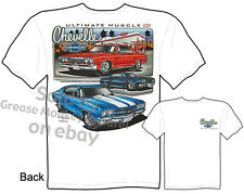 Chevy Tshirt Chevelle Shirts Automotive Shirts Muscle Car Apparel 1965 1967 1970