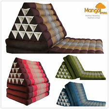 Jumbo Size Thai Triangle Pillow Fold Out Mattress Cushion Day Bed THREE FOLDS