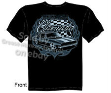 Camaro T Shirts Chevrolet Clothing Muscle Car Apparel Automotive Shirt 1967 1968