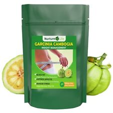 PURE GARCINIA CAMBOGIA THERMOGENIC STRONG 62.1% HCA 3000mg DAILY FAT BURNER