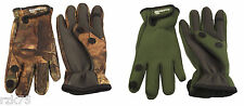 Mens Adults Fishing Gloves, Pro Wet Neoprene Extra Grip Outdoor Sports Gloves
