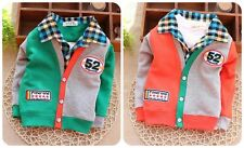 "1PC  New baby boys Long Sleeve Cotton pullovers  ""52"" size:9-36Months"