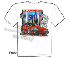 Mustang Apparel Ford T Shirts Mustang GT Shirt Muscle Car Clothing 5.0 Tee