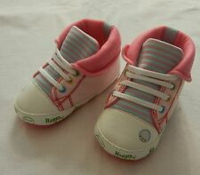 lovely pink high top girl shoes toddler baby girl shoes us size1,2,3