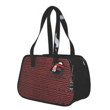 Hagen Dogit IBIZA FAUX LEATHER CARRIER Dog Pet UP TO 20 LBS Red or Brown