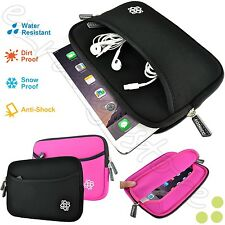 """Kozmicc Neoprene Sleeve Case Cover Bag Pocket Pouch for 7"""" Inch GPS Devices"""