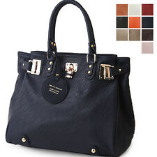Style2030 NEW Womens Shoulder Tote Satchel Cross Body Faux Leather Bag [B1018]