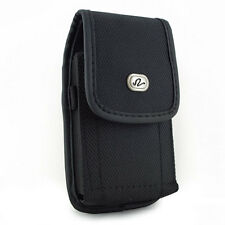 New Over Size Cover Fit Rugged Nylon Belt Clip Holster Pouch Case for Phones