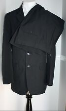 LUCCI HAND TAILORED POLYESTER NAVY ITALY DSGND SUIT PANTS MSRP $199.99