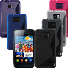S Line Soft TPU Silicone Gel Case Cover Skin For Samsung Galaxy S2 II i9100 i777