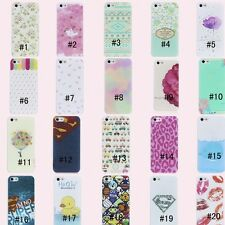 Colorful Hybrid Cute Hard Plastic Back Case Cover Skin Fr Apple iPhone 4 4S 5 5S
