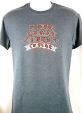 CM Punk I Dig Crazy Chicks Mens Gray T-shirt