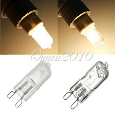 G9 230V 18W 25W 28 35 40W 50W Clear Frosted Halogen Lighting Light Bulb Lamp new