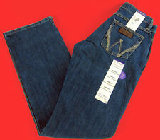 Womens Wrangler Western Q Baby Mid Rise Boot Cut WRJ30TR Stretch Jeans Any Size