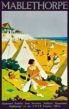 TX297 Vintage Mablethorpe LNER Railways British Travel Poster Re-Print A2/A3/A4