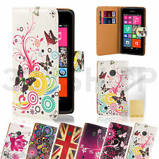 WALLET FLIP PU LEATHER CASE COVER For Nokia Lumia 520  FREE SCREEN PROTECTOR