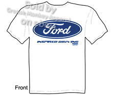 Ford T Shirt Automotive Shirts Mustang Apparel Blue Ford Oval Clothing Tee