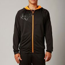 Fox Racing TS Zip Up Hoody Black