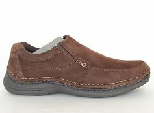 Nunn Bush Vic Mens Slip-On Shoes 5246 Brown - New  Size 8 - 14 Wide and Xwide
