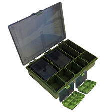 MATT HAYES COMPLETE TACKLE BOX CARP BARBEL SPECIMEN FISHING WITH DIVIDERS NEW