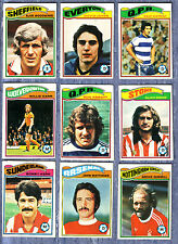 Topps 1978 Trade Cards -Select From Below
