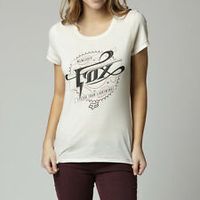 Fox Racing Fox Girl Thundering Crew Tee Shirt Bone