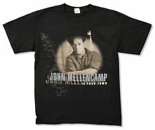 "JOHN MELLENCAMP ""IN YOUR TOWN (CANADA TOUR)"" BLACK T-SHIRT NEW COUGAR OFFICIAL"