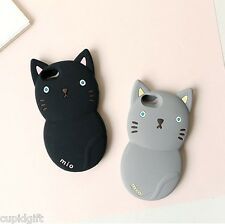 Monomate Mio Cat Silicone Phone Mobile Case iPhone 5 5S Cute Cover Skin Holder