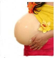 Silicone fake pregnant belly cosplay Cross dresser False Pregnancy belly W