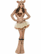 Ladies Sexy Fever Giraffe Animal Hen Zoo Tutu Party Fancy Dress Costume