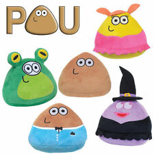 POU 16CM SOFT PLUSH CHARACTER TEDDY OFFICIAL GAME APP TOY NEW