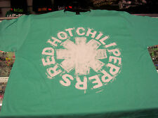 RED HOT CHILI PEPPERS SCRATCH ASTERIK LOGO T-SHIRT NEW !